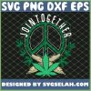 70s Hippie Peace Sign Cannabis Weed Gift Men SVG PNG DXF EPS 1