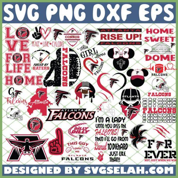 Atlanta Falcons NFL SVG Bundle 1