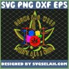 Awesome Drummer Gift Drums And Weed SVG PNG DXF EPS 1