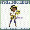 Betty Boop Minnesota Vikings NFL Logo Teams Football SVG PNG DXF EPS 1