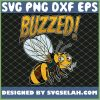 Buzzed Bee High Funny 420 Smoking Weed Cannabis Marijuana SVG PNG DXF EPS 1