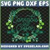 Cannabis And Coffee Drug Weed Marijuana Lover SVG PNG DXF EPS 1