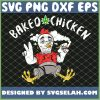 Cannabis Baked Chicken Funny Stoner Christmas Weed Gag Gift SVG PNG DXF EPS 1