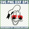 Donald With Sunglasses Castle SVG PNG DXF EPS 1