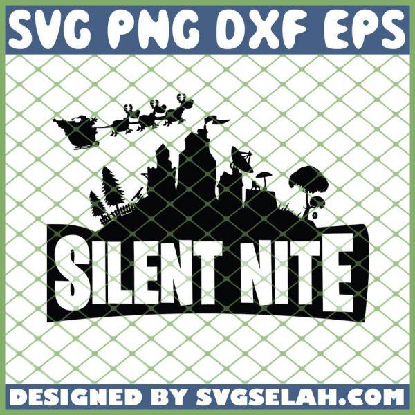 Fortnite Silent Nite SVG PNG DXF EPS 1