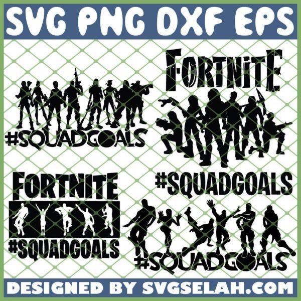 Fortnite Squadgoals Bundle SVG PNG DXF EPS 1