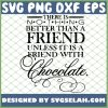 Friend With Chocolate 1