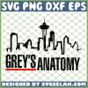 Greys Anatomy Skyline SVG PNG DXF EPS 1