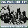 Harry Potter Castle Hogwarts SVG PNG DXF EPS 1