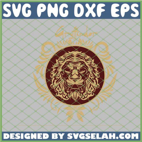 Harry Potter Gryffindor Tribal SVG PNG DXF EPS 1