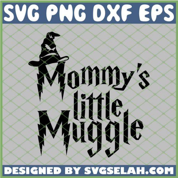 Harry Potter Hat Mommys Little Muggle SVG PNG DXF EPS 1