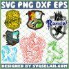 Harry Potter House SVG PNG DXF EPS 1