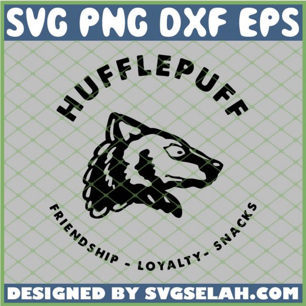 Harry Potter Hufflepuff Friendship Loyalty Snacks SVG PNG DXF EPS 1