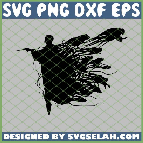 Harry Potter Lord Voldemort Shadows SVG PNG DXF EPS 1