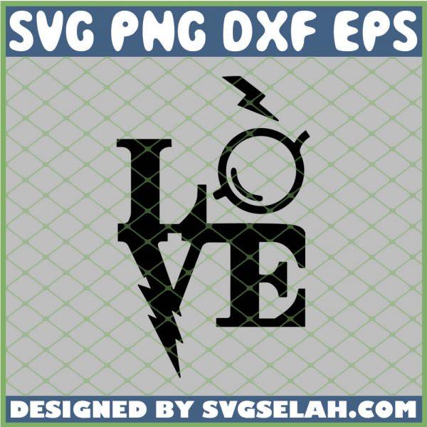 Harry Potter Love Glasses SVG PNG DXF EPS 1