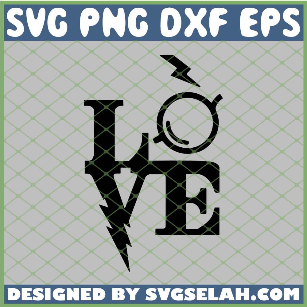 Download Harry Potter Love Glasses SVG, PNG, DXF, EPS, Design Cut ...