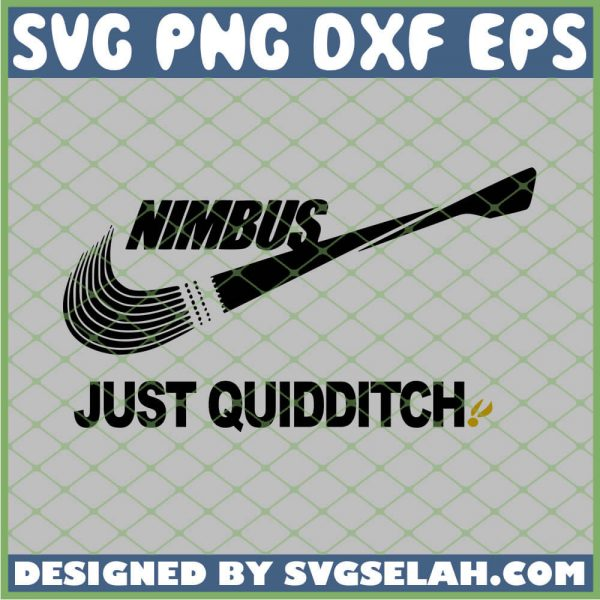 Harry Potter Nike Nimbus Just Quidditch SVG PNG DXF EPS 1