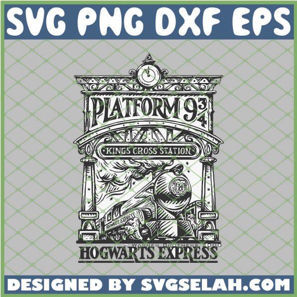 Harry Potter Platform 9 3 4 Kings Cross Station SVG PNG DXF EPS 1