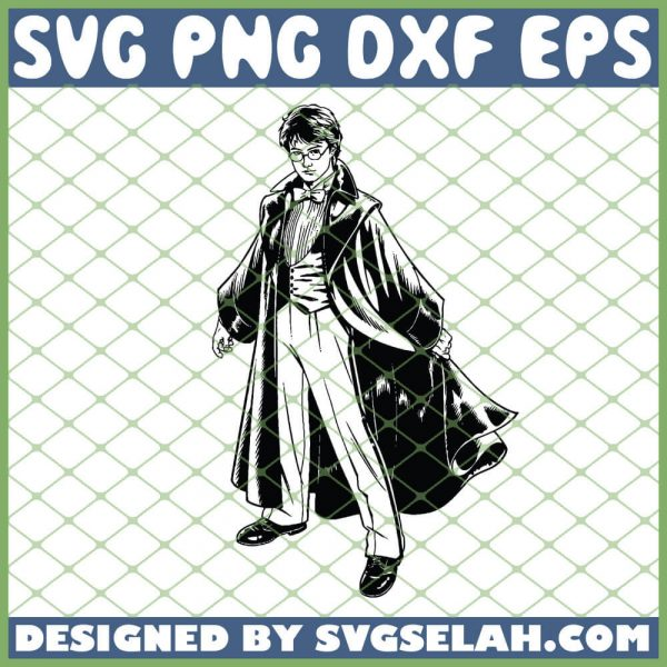 Harry Potter Silhouette SVG PNG DXF EPS 1