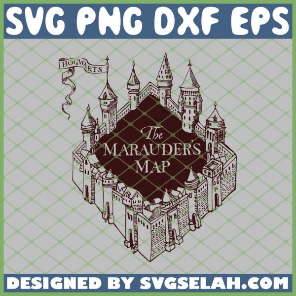 Harry Potter The Marauders Map SVG PNG DXF EPS 1