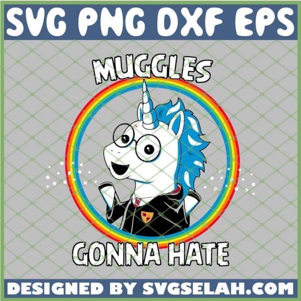 Harry Potter Unicorn Muggles Gonna Hate SVG PNG DXF EPS 1
