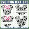 Head Mickey Doodle SVG PNG DXF EPS 1