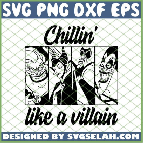 Hocus Pocus Chillin Like A Villain 2 SVG PNG DXF EPS 1