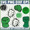 Hulk Hand SVG PNG DXF EPS 1