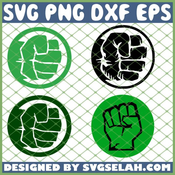 Hulk Logo SVG PNG DXF EPS 1
