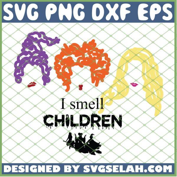 I Smell Children Hocus Pocus SVG PNG DXF EPS 1
