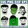 Incredible Hulk SVG PNG DXF EPS 1