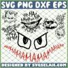Joker Face Hahaha SVG PNG DXF EPS 1
