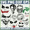 Joker Face SVG PNG DXF EPS 1