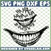Joker Mouth SVG PNG DXF EPS 1
