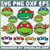 Ninja Turtle Face Tmnt SVG PNG DXF EPS 1