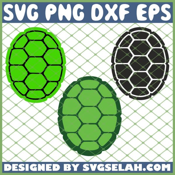 Ninja Turtle Shell Tmnt SVG PNG DXF EPS 1