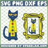 Pete The Cat Buttons SVG PNG DXF EPS 1