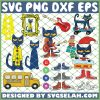 Pete The Cat SVG PNG DXF EPS 1