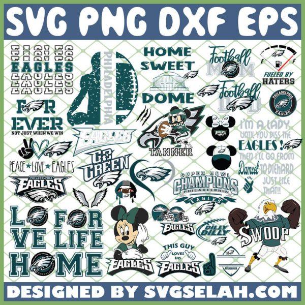 Philadelphia Eagles NFL SVG Bundle 1