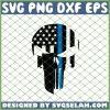 Punisher Blue Line SVG PNG DXF EPS 1