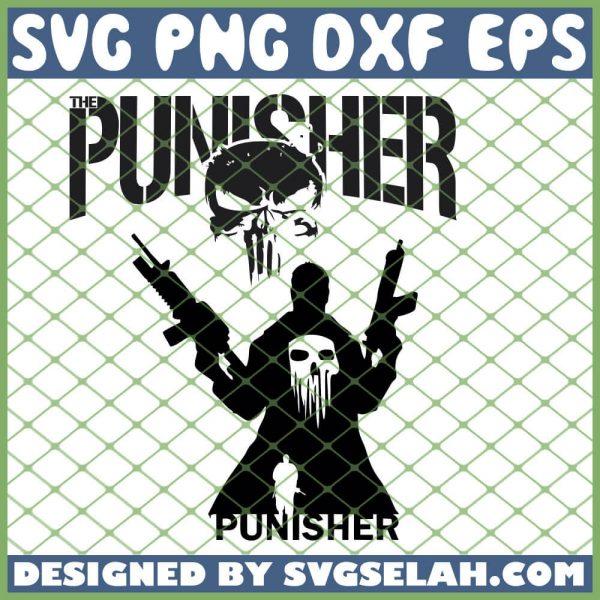 Punisher SVG PNG DXF EPS 1