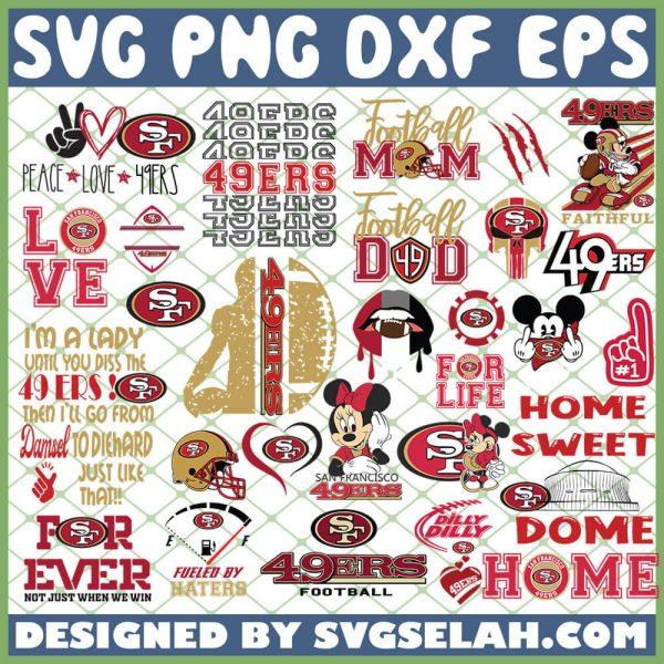 San Francisco 49ers NFL SVG Bundle 1