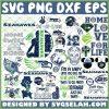 Seattle Seahawks NFL SVG Bundle 1