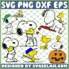 Snoopy Woodstock SVG PNG DXF EPS 1