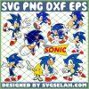 Sonic The Hedgehog SVG PNG DXF EPS 1