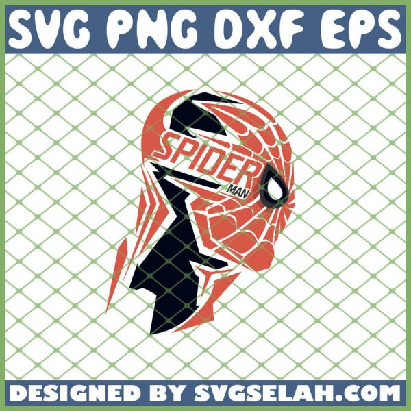 Spiderman Head SVG PNG DXF EPS 1