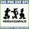 Squadgoals Mickey SVG PNG DXF EPS 1