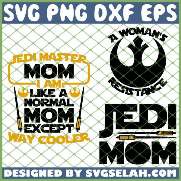 Star War Mom SVG PNG DXF EPS 1