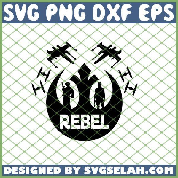 Star War Rebel Logo SVG PNG DXF EPS 1