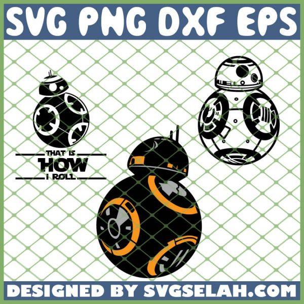 Star Wars Bb8 SVG PNG DXF EPS 1